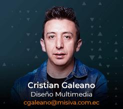 Cristian Galeano - Diseño Multimedia - Misiva - Ecuador